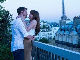 Cinquanta sfumature di rosso: Jamie Dorman e Dakota Johnson a Parigi