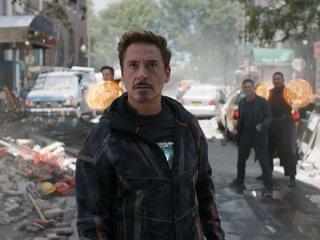 Avengers: Infinity War, Robert Downey Jr. in azione