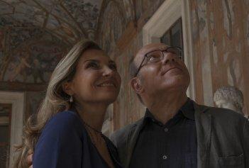 Benedetta follia: Carlo Verdone e Maria Pia Calzone in una scena del film