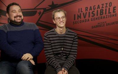 """Il Ragazzo invisibile 2, Girardello e Perez: """"La situazione fa l'eroe: per cambiare si deve fare casino"""""""