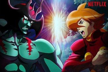 Cyborg 009 Vs Devilman: un'immagine promozionale