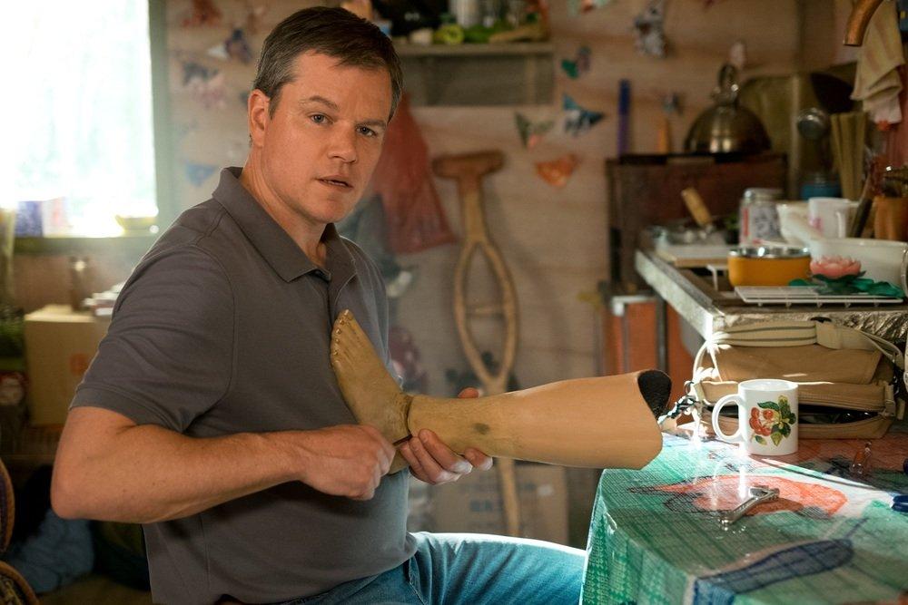 Downsizing Matt Damon