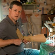 Downsizing - Vivere alla grande: Matt Damon in una scena del film