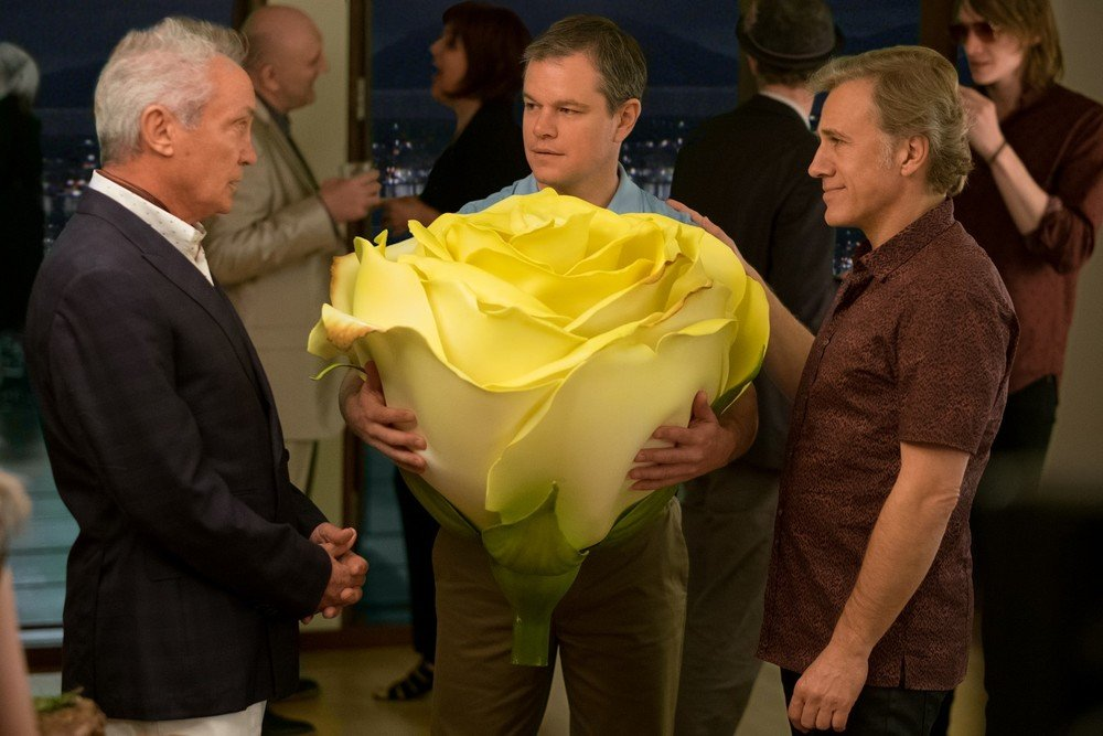 Downsizing Udo Kier Matt Damon Christoph Waltz