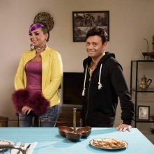Finalmente sposi: Enzo Iuppariello e Monica Lima in un'immagine tratta dal film