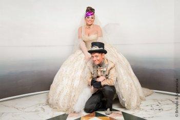 Finalmente sposi: Enzo Iuppariello e Monica Lima in un'immagine promozionale del film