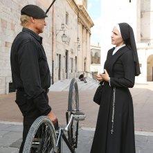 Don Matteo: una foto di Terence Hill e Astra Lanz