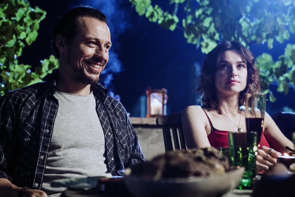 Made in Italy: Kasia Smutniak e Stefano Accorsi in un'immagine del film