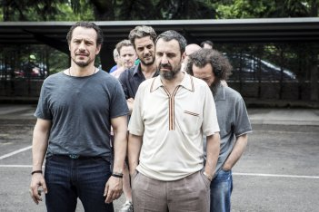 Made in Italy: Stefano Accorsi, Walter Leonardi e Filippo Dini in una scena del film