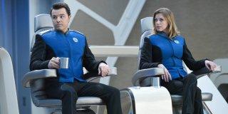 The Orville: Adrianne Palicki e Seth MacFarlane nella prima stagione