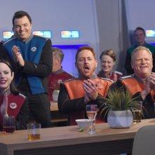 The Orville: l'equipaggio in una scena della prima stagione