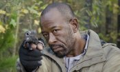The Walking Dead: Lennie James nelle nuove foto del crossover con Fear The Walking Dead