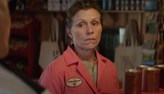 Tre manifesti a Ebbing, Missouri: Frances McDormand in un'immagine tratta dal film di Martin McDonagh