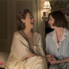 The Post: Meryl Streep e Alison Brie in una scena del film