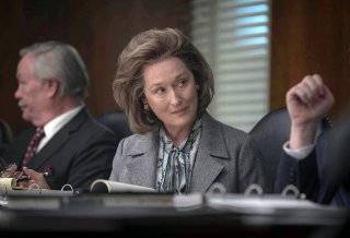 The Post: Meryl Streep in un momento del film