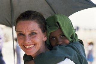 Audrey Hepburn in un'immagine promozionale per l'Unicef