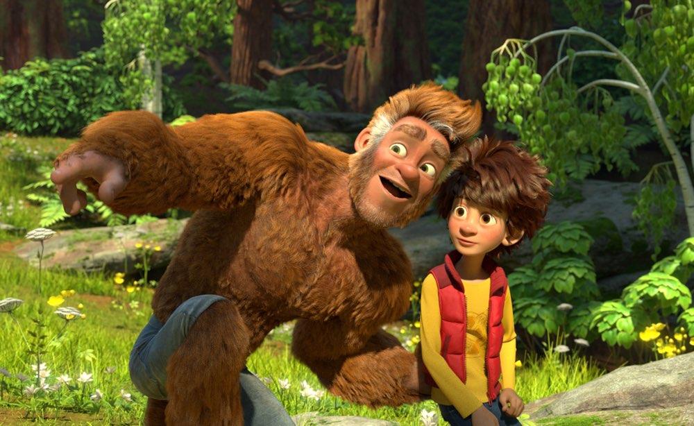 Bigfoot Junior: un momento del film animato