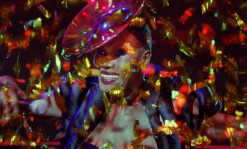 Grace Jones: Bloodlight and Bami, una suggestiva immagine del documentario