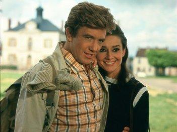 Due per la strada: Audrey Hepburn e Albert Finney in una scena del film