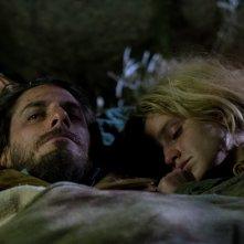 Fabrizio De André - Principe Libero: Luca Marinelli e Valentina Bellè in un momento del film