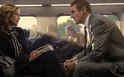 Liam Neeson è L'uomo sul treno, eroe hitchcockiano in un thriller col pilota automatico