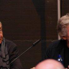 Pink Floyd: Roger Waters e Nick Mason a Roma all'inaugurazione della mostra al Macro