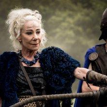 Britannia: Zoe Wanamaker in una scena della prima stagione