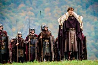 Britannia: David Morrissey nella prima stagione