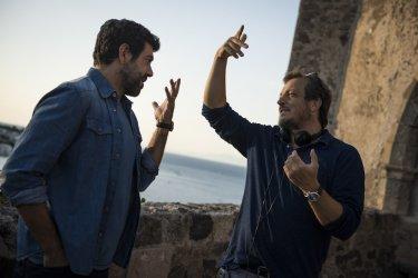 A casa tutti bene: Pierfrancesco Favino e Gabriele Muccino sul set del film