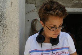 Figlia mia: la regista Laura Bispuri sul set