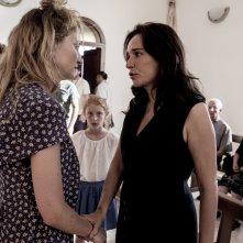Figlia mia: Sara Casu, Valeria Golino e Alba Rohrwacher in un momento del film