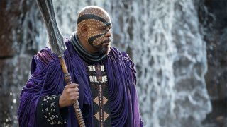 Black Panther: Forest Whitaker in una foto del film