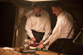 Il filo nascosto: Paul Thomas Anderson e Daniel Day-Lewis sul set del film