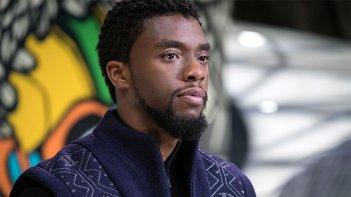 Black Panther: il protagonista Chadwick Boseman in una foto del film