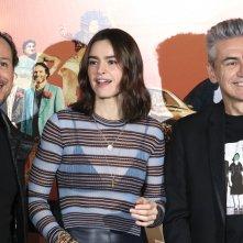 Made in Italy: Kasia Smutniak, Stefano Accorsi e Luciano Ligabue al photocall