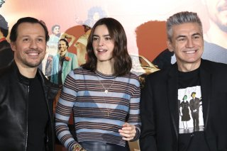 Made in Italy: Kasia Smutniak, Stefano Accorsi e Luciano Ligabue al photocall