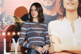 Made in Italy: uno scatto di Kasia Smutniak al photocall