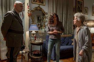Sono tornato: Massimo Popolizio ed Eleonora Belcamino in una scena del film