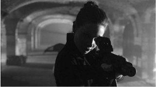 Mission: Impossible 6, Rebecca Ferguson armata in una scena