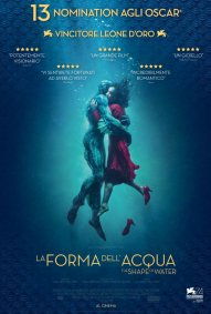Locandina di La forma dell'acqua - The Shape of Water