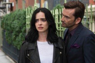 Jessica Jones: Krysten Ritter e David Tennant nella stagione 2