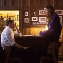 Submergence: Alicia Vikander e James McAvoy in una foto di scena