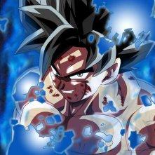 Dragon Ball Super: Goku in una scena dell'anime