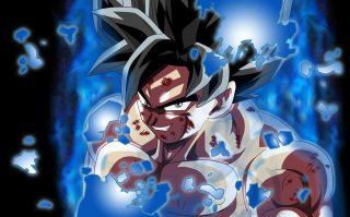 Dragon Ball Super: Goku in una scena dell'anime