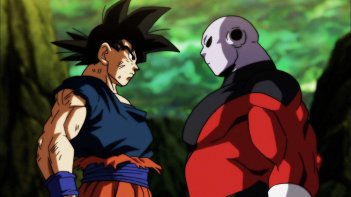Dragon Ball Super: Goku in una scena