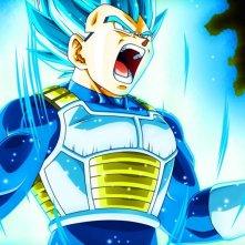 Dragon Ball Super: Vegeta in una scena