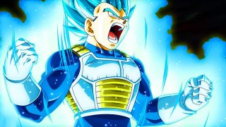 Dragon Ball Super: Vegeta in una scena