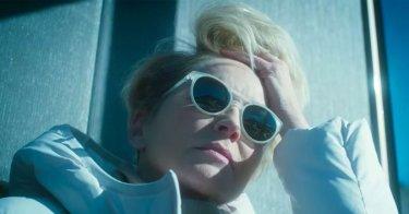 Mosaic: un primo piano di Sharon Stone