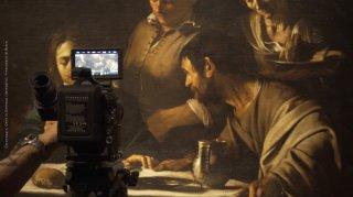 Caravaggio - L'anima e il sangue: un'immagine dal set del documentario