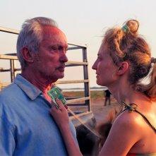 Figlia mia: Alba Rohrwacher e Udo Kier in una scena del film